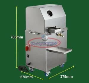 220V Automatic Electric Sugar Cane Juicer Sugarcane Juice Press Machine