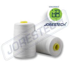 New 3 Cones 100% Polyester White 12/4 Thread for Portable Bag Closer Stitcher