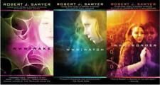 Robert Sawyer WWW TRILOGY Sci Fi Artificial Intelligence Series Paperbacks 1-3