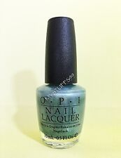 """OPI Nail Lacquer """"NL S34 BLUE MOON LAGOON"""" IT'S SUMMER FOR SHORE COLLECTION HTF!"""