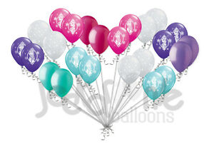 24 pc Disney Princess Frozen Latex Balloons Party Decoration Birthday Baby Girl