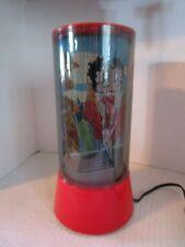 "Sexy Red Dress Betty Boop Rotating / Revolving Motion Circular 12"" Light / Lamp"