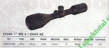 "VISOR TELESCOPICO GAMO SERIE MATRIK T.T 1"" MD 4-12X44 A0  VEMD412X44A0 G"