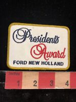 Agricultural Machinery Manufacturer FORD NEW HOLLAND Patch President's Award095E