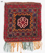 Antik Afghan Baluch nomaden Tasche teppich Torba antique nomadic rug bag Nr:103