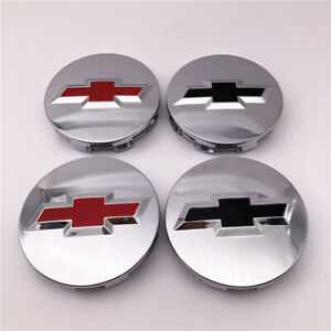 "4X 2007-2013 3.25"" Chrome Center Caps For Chevy Silverado Suburban Tahoe 9596403"