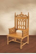 Canterbury Celebrant Chair Medium Oak Stain