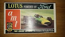 AMT Ford Lotus 1/25th Scale Checker Flag Series Model In Mint Box Please Read