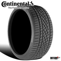 1 X New Continental ExtremeContact DWS06 295/35R18 99Y All-Season Radial Tire