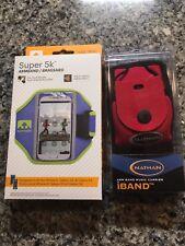 NATHAN SUPER 5K Running Armband For iPhone 4 5 6 Galaxy S3 S4 BRAND NEW + bonus