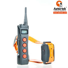 Aetertek AT-919C Submersible Remote Shock Dog Collar Auto Anti-Bark Training LCD