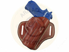 Armadillo Holsters Tan Leather Butterfly Belt Holster for Sig P938 (G6-P938)
