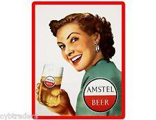 Amstel Beer Girl  Refrigerator / Tool Box  Magnet Man Cave