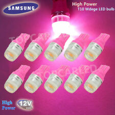 10x T10 LED SAMSUNG High Power 1W Wedge Light Bulb W5W 192 168 194 Pink Purple