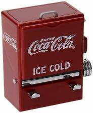 Vending Machine Toothpick Holder Coca Cola Red White Kitchen Table Decor Home