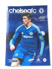 Chelsea FC Match Day Programme Premiere League Wigan Athletic 2011 Football Engl