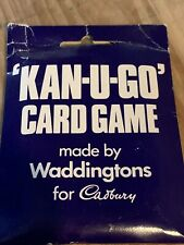 Rare Vintage Card Parlour Game Boxed Complete Instructions Kan-u-go Kanugo