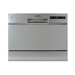electriQ Table Top Dishwasher - Silver
