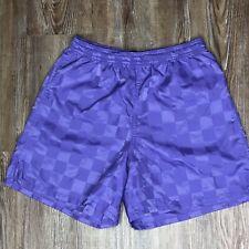 Umbro Soccer Athletic Shorts Royal Purple Kids Youth Medium M Unisex Girls Boys