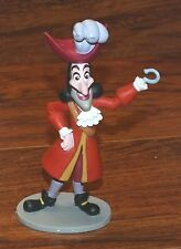 "Disney ""Captain Hook"" Vivian From Peter Pan Movie 4.5 Inch Tall PVC Figurine Toy"
