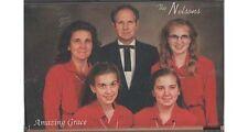 Amazing Grace ~ The Larry Nelson Family ~ Gospel ~ Christian ~ Cassette ~ VG