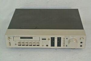 Harman Kardon HK 705 Stereo Cassette Deck Ultrawide Band Metal Dolby Vintage