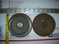 LIVE STEAM ENGINE wheel  CASTINGS CAST IRON ,tender ,car locomotive ? two