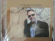 JOHN SAFRANKO- Songs Of Rod McKuen Volume 3, new release sealed