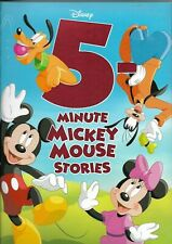 5-Minute Stories Ser.: 5-Minute Mickey Mouse Stories by Disney Book Group (2018, Hardcover)