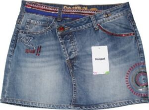 Desigual Jeans-Minirock Gr.36 (spanisch 38) NEU Fal Alicia