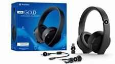 PlayStation Gold Wireless Stereo Gaming Headset for PS4