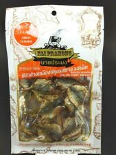 Thai Fish Seafood Snack Food Chilli Flavour Roased Seasoned From Thailand 40g