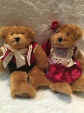 Russ Romeo And Juliet 9 In Plush Velvet Clothed Bears