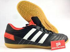 New 9 adidas Freefootball Super Sala Indoor Soccer Shoes Black Orange Q21617 x1
