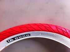 "NEW BICYCLE TIRE 26"" X 3.0 SLICK red black grey BEACH CRUISER BMX CHOPPER BIKES"