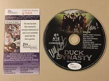 Willie & Jase Robertson signed Duck Dynasty DVD Season 1 Autographed JSA #S76865