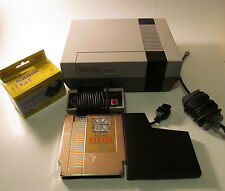 Nintendo NES Console (NTSC) Zelda Bundle System w/ New 72 Pin & Working Save