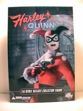 "DC Comics HARLEY QUINN COLLECTOR FIGURE 13"" 1/6 Scale NEW! DELUXE Batman Joker"