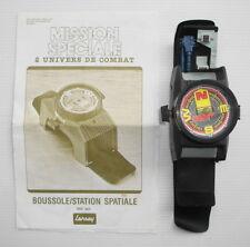 Jouet ancien Lansay playset Mission Speciale Boussole Station Spatiale ref 305