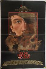 YOUNG SHERLOCK HOLMES FF ORIG 1SH MOVIE POSTER STEVEN SPIELBERG  (1985)
