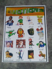 Teacher Resource Classroom Poster EMOTIONS Happy Sad Afraid  Infants Primary BN