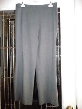 Piazza Sempione pants I 48 front zip wool/lycra lightweight flat finish grey
