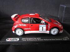 Q021 POLISTIL PEUGEOT 206 WRC NEW ZEALAND 2003 1/43°
