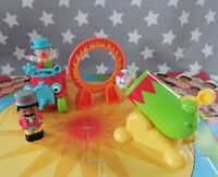 ELC Happyland Circus set with Puzzle Board, Accessories And Figures