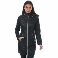 Womens Elle Janine Coat In Black