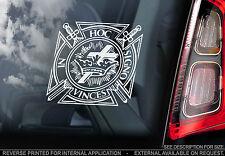 Knights Templar - Car Window Sticker - Masonic Symbol Sign Freemasons Logo - V02