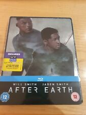 After Earth Ltd Edition Blu Ray Steelbook NEW & SEALED + FAST FREE POSTAGE