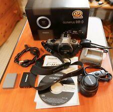 Coffret Olympus OM-D E-M10 16MP Appareil Photo Reflex Numérique-Argent + Zuiko Objectif 14-42 mm