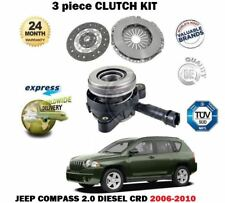 FOR JEEP COMPASS 2.0 DT CRD DIESEL 2006-2010 NEW  CLUTCH KIT WITH SLAVE CYLINDER