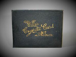 WILLS's Cigarette Card Album  200 cards Coronation Celebrated Ships Signalling